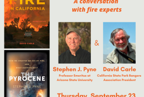 Chaucer's Virtual Discussion on Fire in California