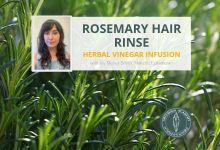 Virtual: Rosemary Hair Rinse Workshop