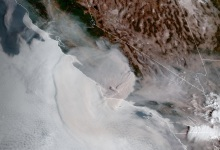 Smoke from Windy Fire Blows into Santa Barbara County