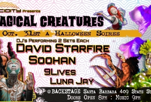 In-Person: Magical Creatures: Lucidity's Halloween Soiree