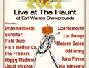 In-Person: ROCKTOBER-13 bands-Free at Earl Warren Showgrounds