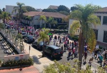 Thousands March in Santa Barbara to Protect Reproductive Rights
