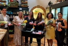 The Easter Team Wraps Up Successful Food Drive