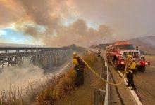 Alisal Fire Still Making Runs to Beach