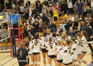 Dos Pueblos Girls' Volleyball Defeats Rival San Marcos in Straight Sets