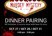 In-Person: Murder Mystery Dinner Pairing