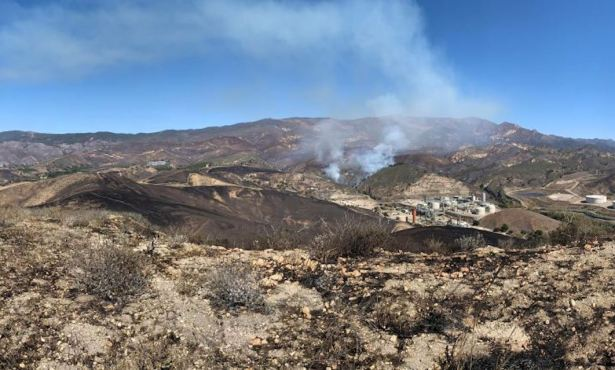 Alisal Fire 50 Percent Contained