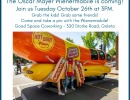 In-Person: Wienermobile Sighting at Good Space!