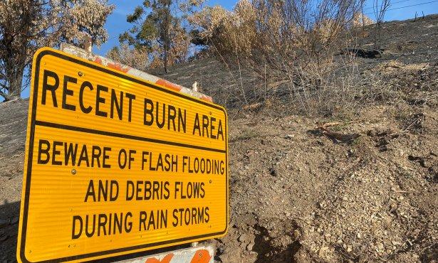 Mandatory Evacuation Order for Alisal Fire Burn Scar