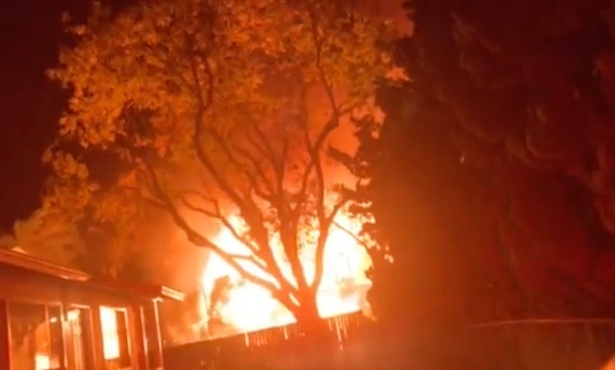 Early-Morning House Fire Erupts in Isla Vista